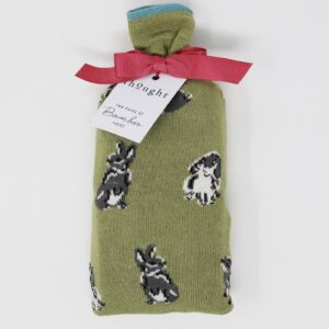 Thought Bunny Socks in a Bag