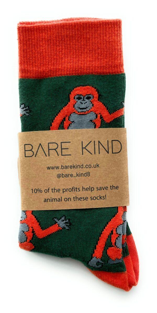 Bare Kind orangutans